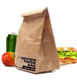 Lunchzak Brown Paper Bag