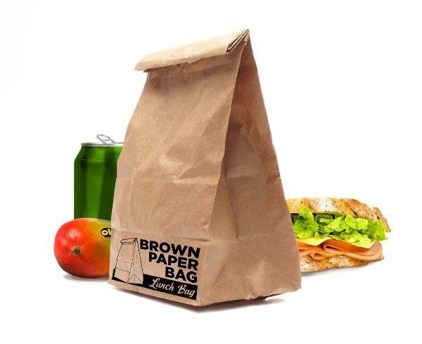 Lunchzak Brown Paper Bag