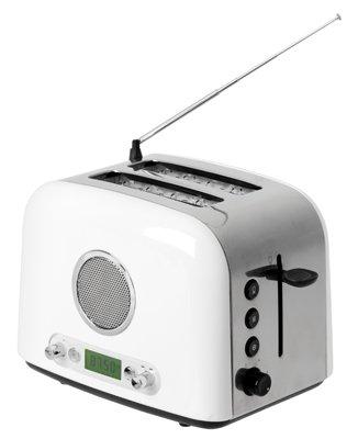 Broodrooster met radio