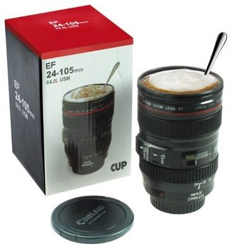 Camera lens Drinkbeker
