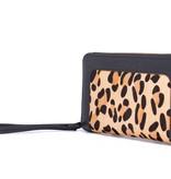 Supercute Lederen Antiskim Portemonnee Leopard