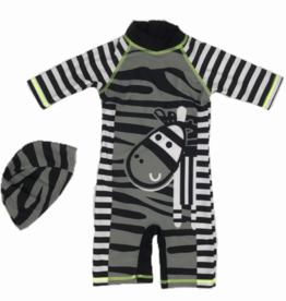 Supercute Kinder Zwempak Zebra