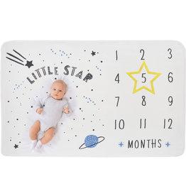Supercute Mijlpaaldeken Milestonedeken Twinkle  Star