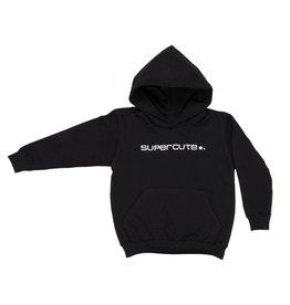 Supercute sweater Hoodie Zwart voor kinderen