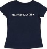 Supercute T-shirt voor kinderen Donker Blauw Organic