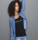 Supercute Supercute T-shirt Zwart volw