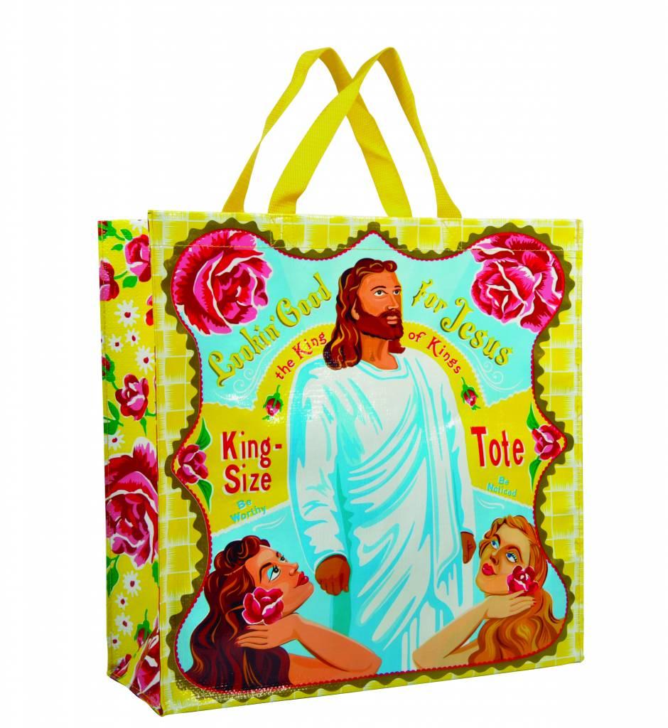 Gele Shoppertas Looking good for Jesus