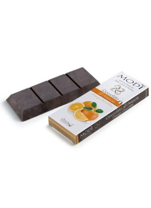 Chocolade uit Modica bereid met sinaasappel