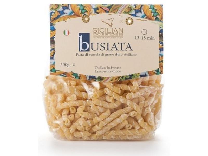 Busiata: Siciliaanse pasta gemaakt van de beste durum tarwe