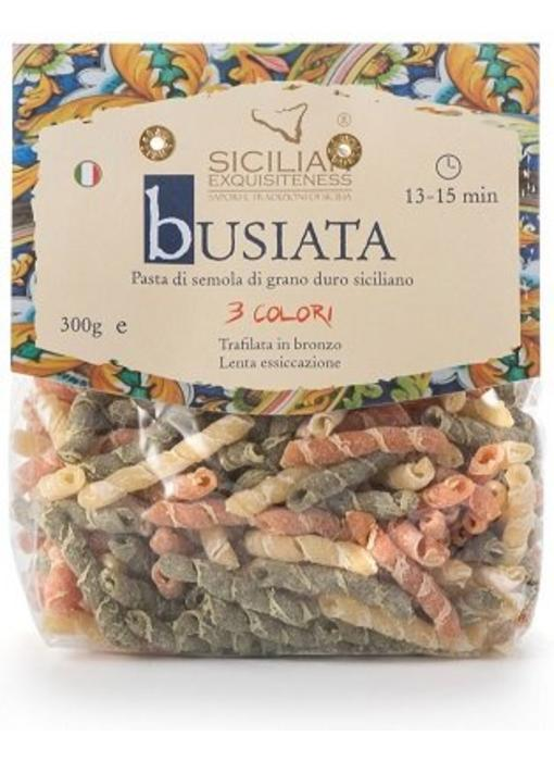 Busiata 3 colori, Siciliaanse pasta