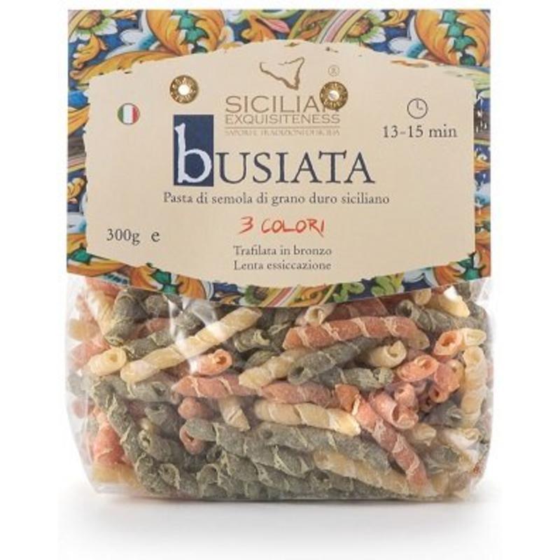 Daidone Busiata 3 colori, Siciliaanse pasta
