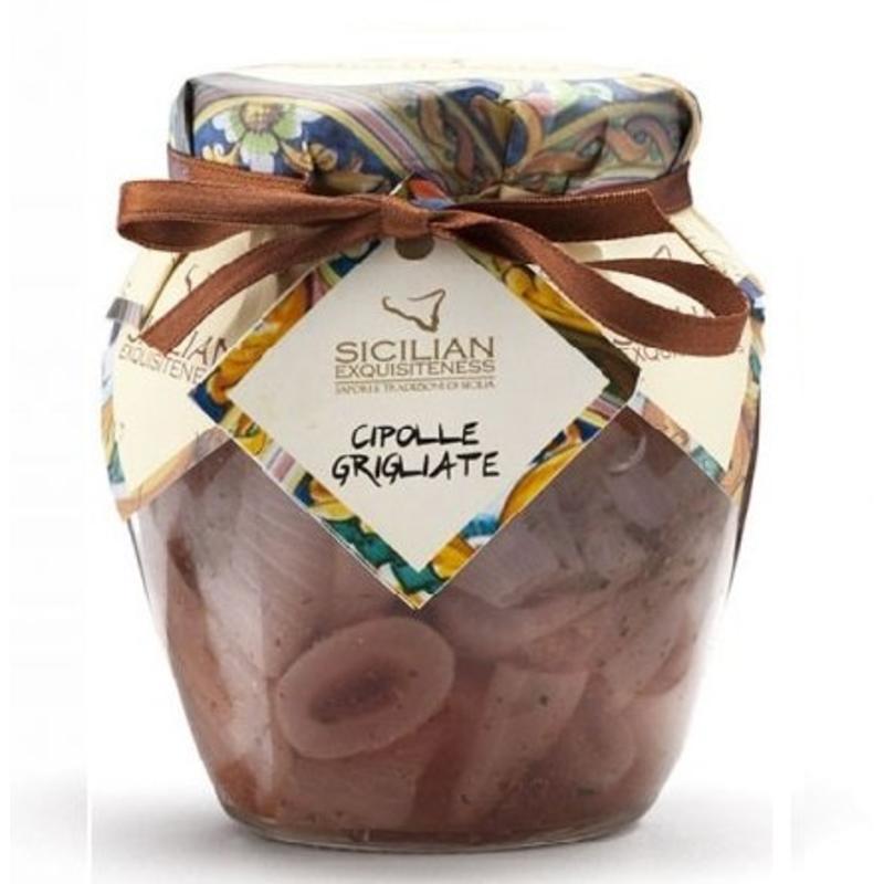 Cipolle grigliate:  gegrilde ui uit Sicilië