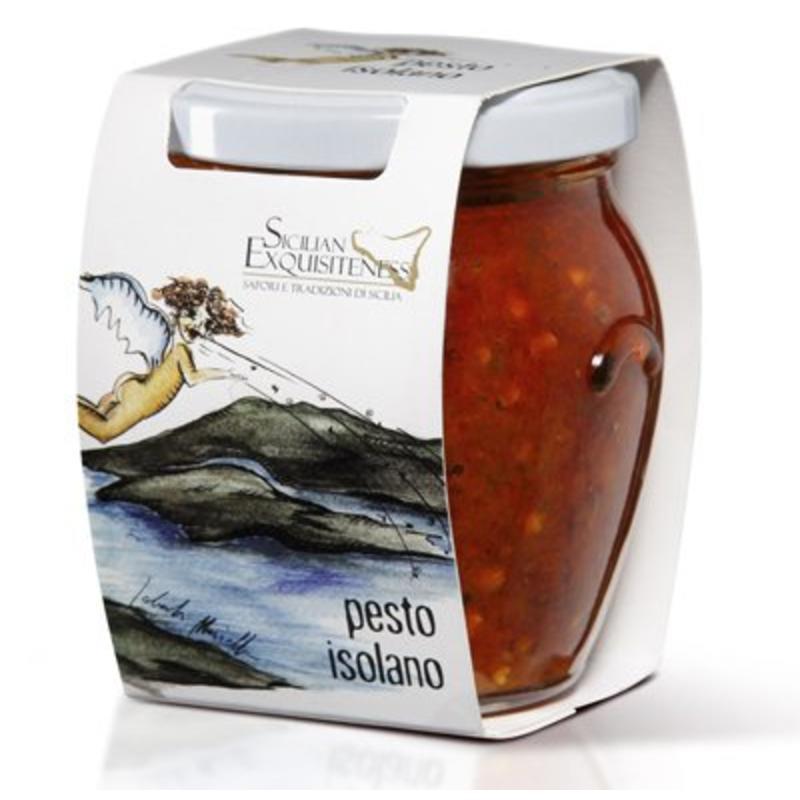 Pesto Isolano uit Sicilië met Sardientjes