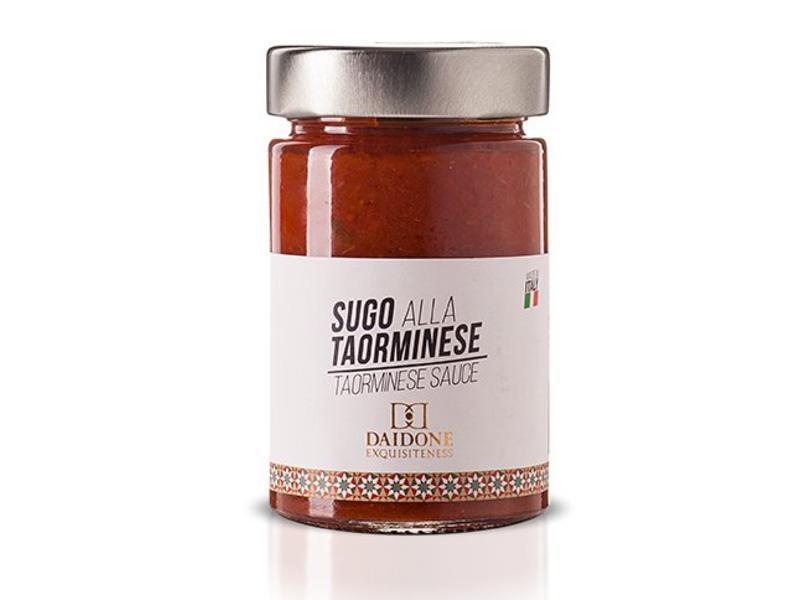 Daidone Siciliaanse pastasaus a la Taorminese