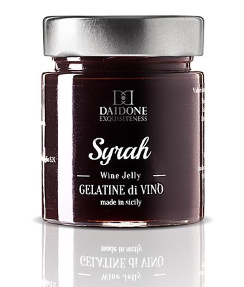 Gelatine di Vino: Italiaanse  Wijnsaus Syrah