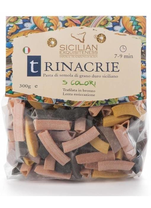 Trinacrie 5 kleuren: Siciliaanse pasta