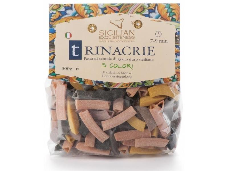 Trinacrie 5 kleuren: Siciliaanse pasta van de beste durum tarwe