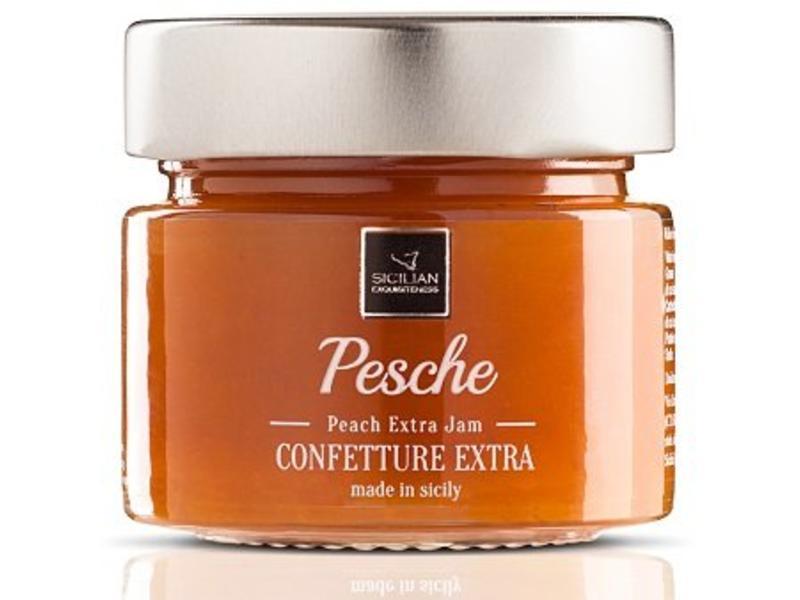 Perzik Confiture van Siciliaanse wilde perzik