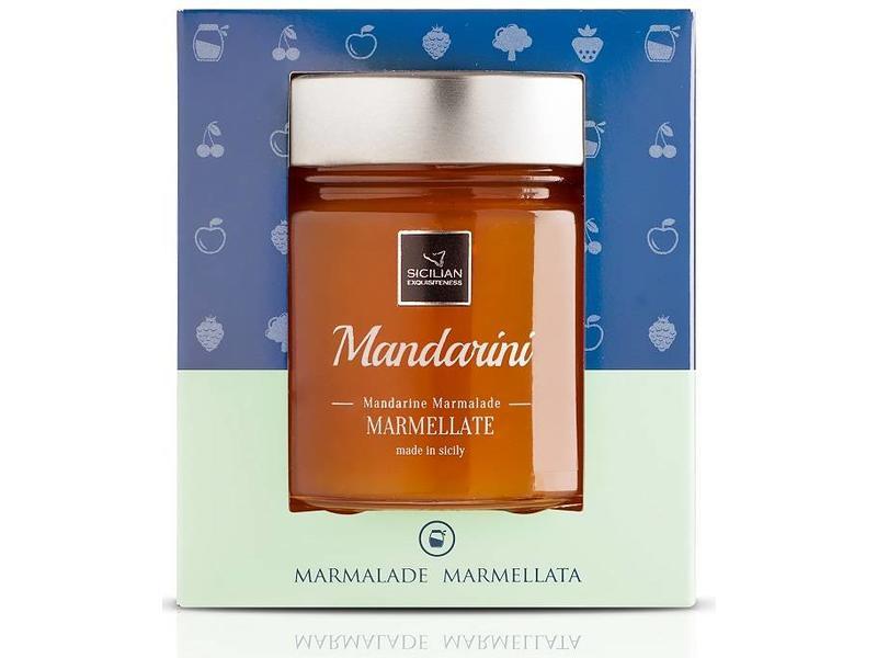 Italiaanse Mandarijnen Marmelade, van Siciliaanse mandarijnen