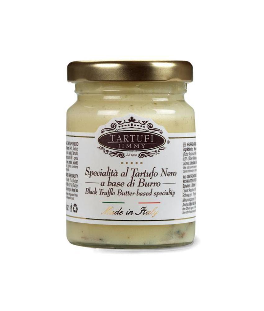 Jimmy Tartuffi Zwarte truffel boter 75 gram