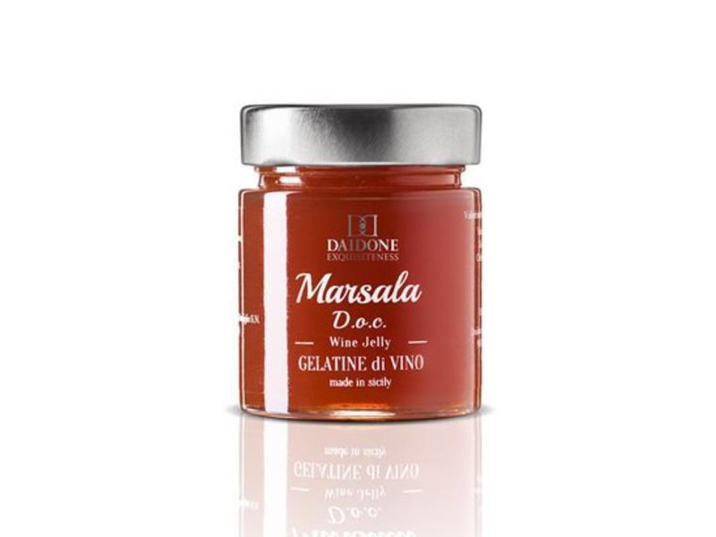 Rode Wijnsaus van Marsala wijn uit Sicilië