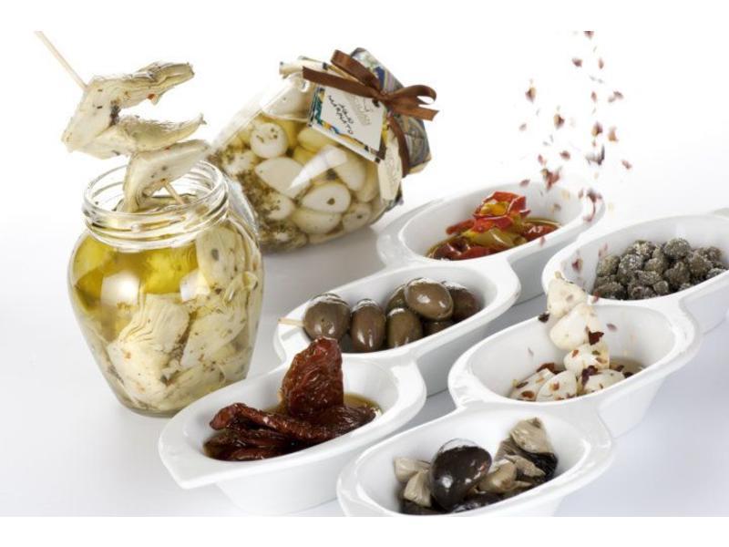 Daidone Gegrilde aubergine, ingelegd in olijfolie 290 gram
