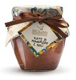 Tomaten tapenade uit Sicilië: tomaat met walnoot