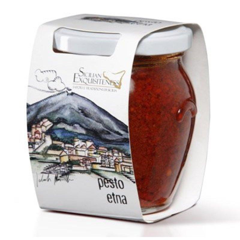 Pittige Italiaanse Pesto, Pesto Etna