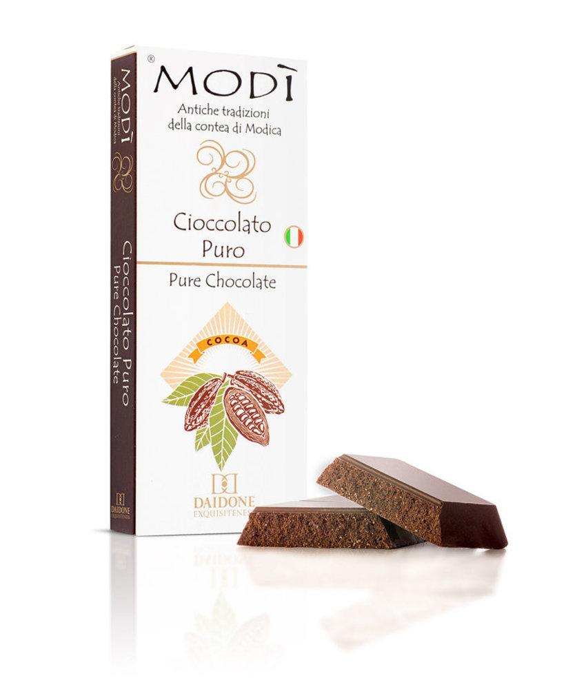 Chocolade Puur uit Modica, Sicilie
