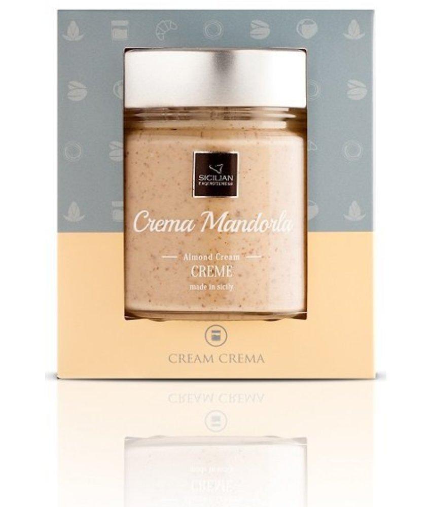 Amandel Creme, Crema Mandorla  uit Sicilie