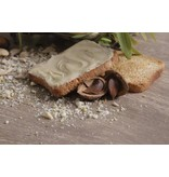 Amandel Creme, crema mandorle bereid met echte Italiaanse amandelen