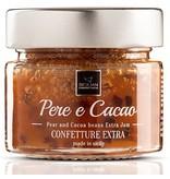 Italiaanse extra confiture peer en cacao-bonen