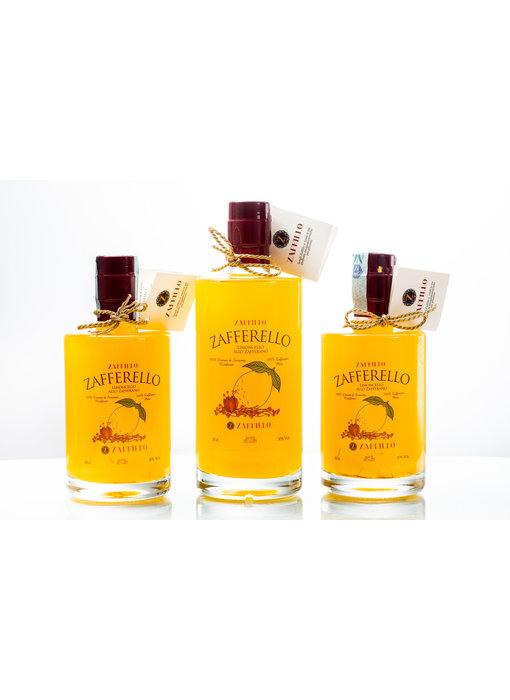 Zaffillo Limoncello met saffraan: Zafferello 50cl