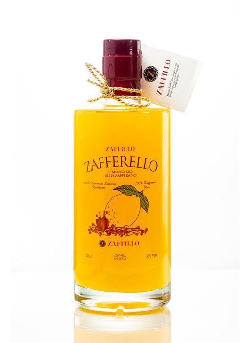 Zaffillo Limoncello met saffraan: Zafferello 70 cl