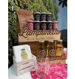 Lamponi Lamponella, frambozenbladthee, ongezoet