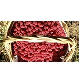 Frambozen compote, 120 gr frambozen per 100 gr