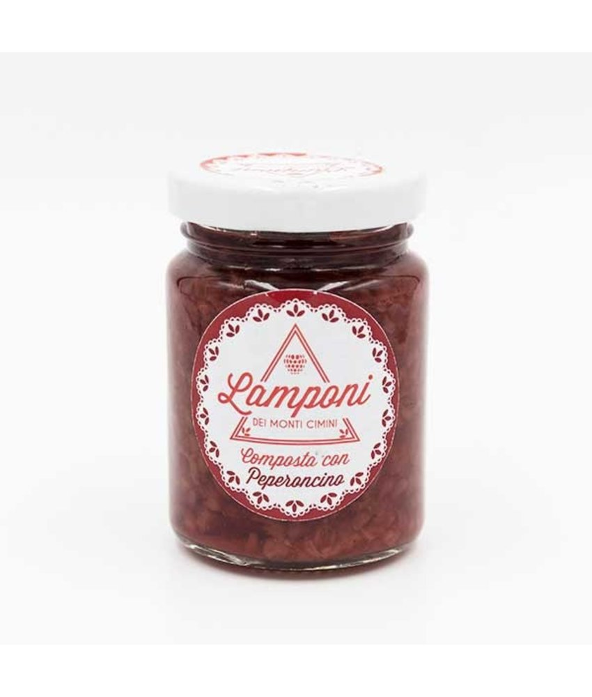Frambozen compote met Peperoncino