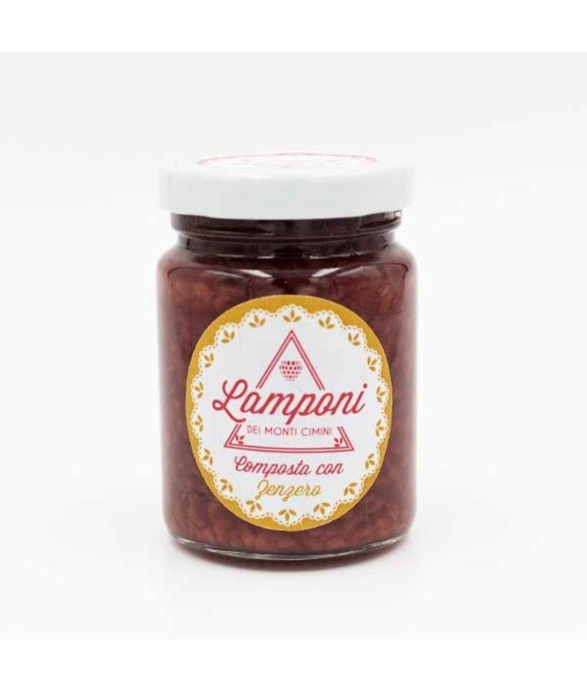 Lamponi Frambozen compote met Gember