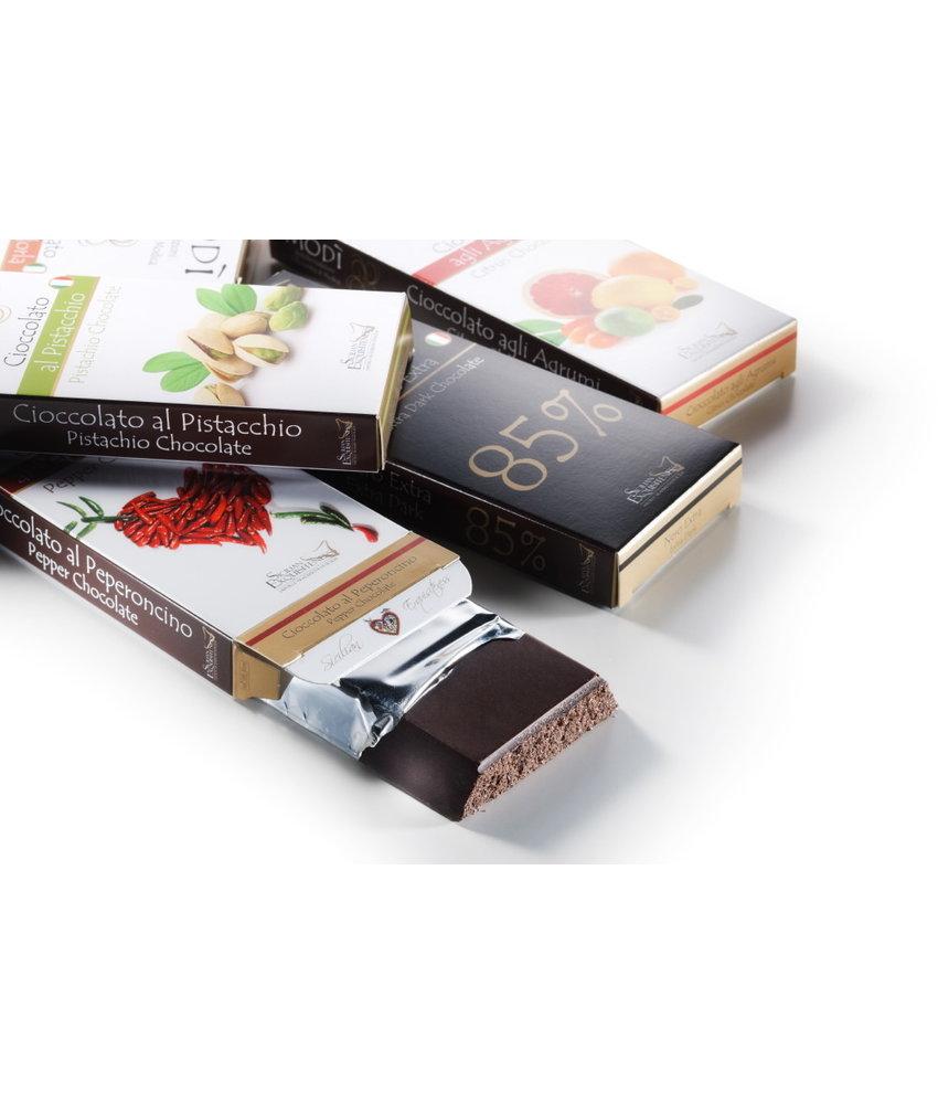 Chocolade uit Modica met  Cactusvijg