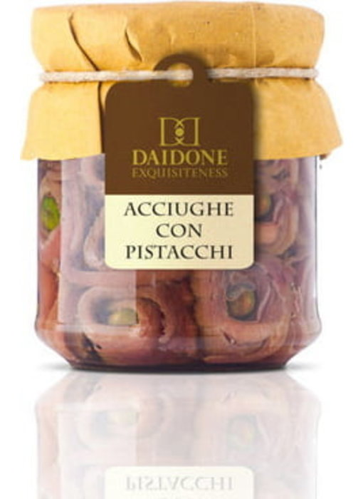 Ansjovis met Pistache uit Sicilië