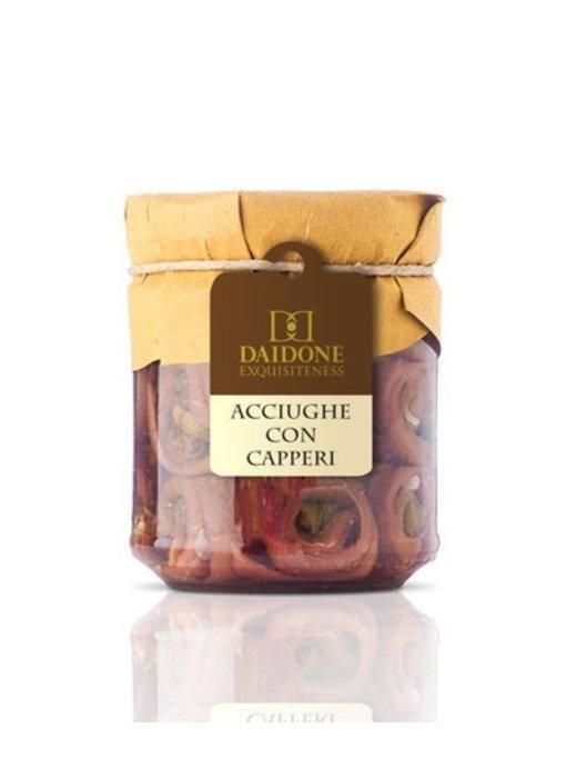 Ansjovis met Kappertjes uit Sicilië