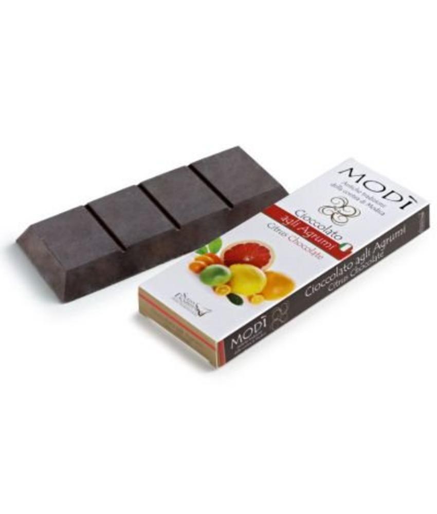 Chocolade uit Modica met  Citrusvruchten