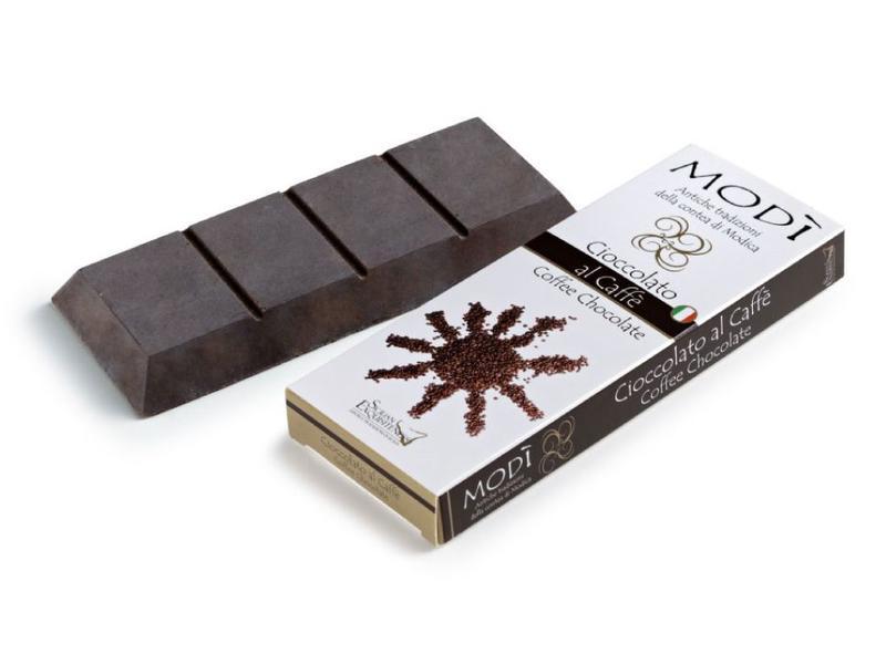 Chocolade uit Modica, Sicilie, met koffiesmaak