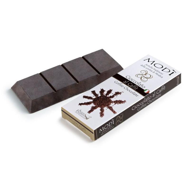 Chocolade uit Modica met koffie