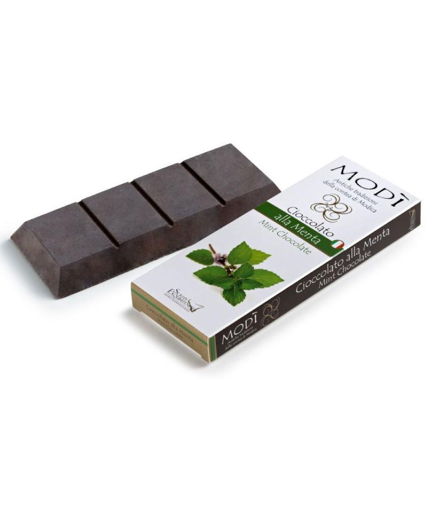Chocolade uit Modica met mint