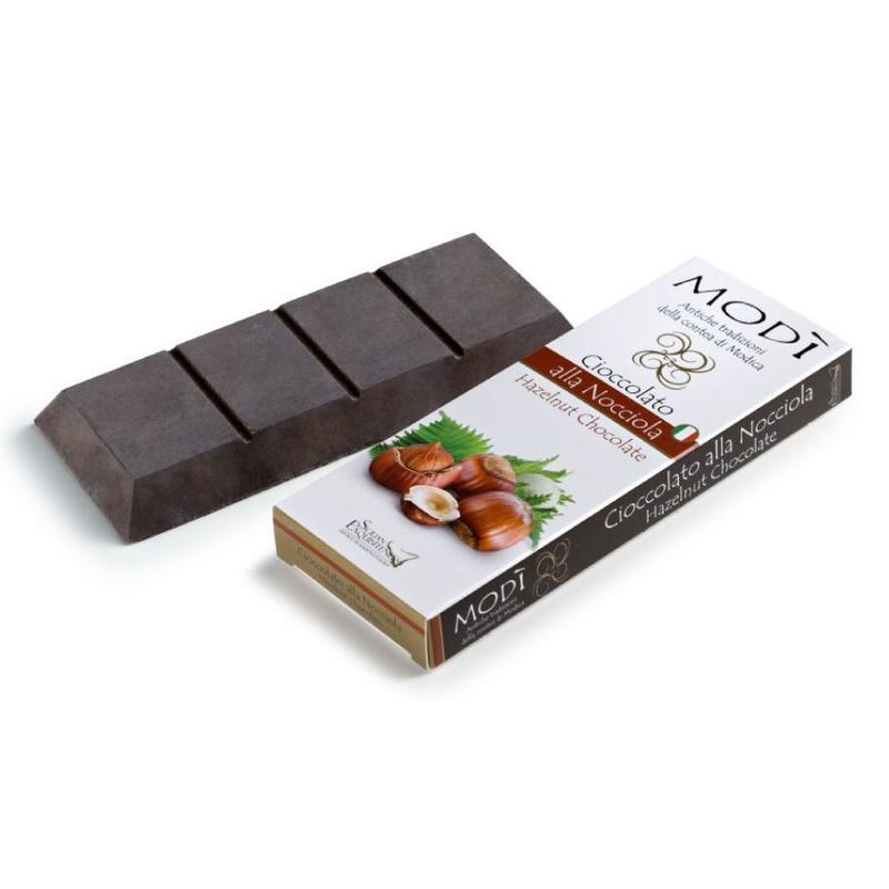 Chocolade uit Modica met Italiaanse hazelnoot