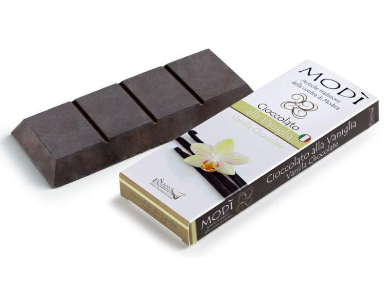 Chocolade uit Modica, bereid met echte Vanille