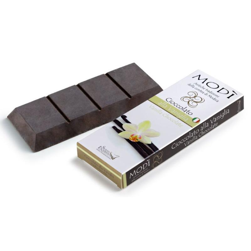 Modica chocolade, met echte vanille