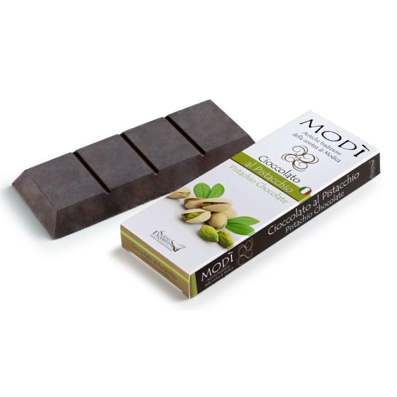 Daidone Chocolade uit Modica bereid met Siciliaanse pistache