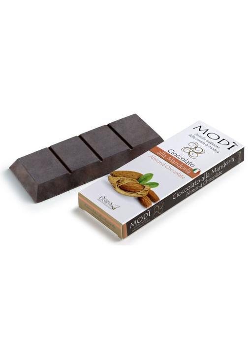 Chocolade uit Modica bereid met amandel